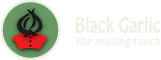 Black Garlic -The Missing Touch Logo