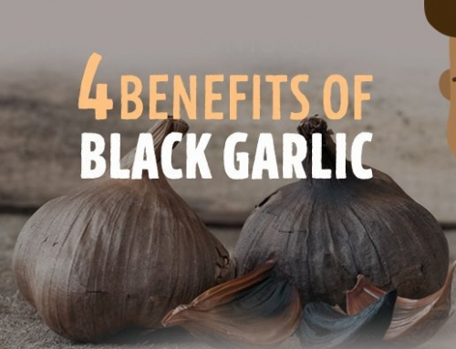 4 BENEFITS OF BLACK GARLIC